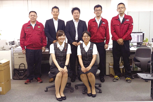 吉川グループ 営業所リレー|TSUNAGU 02号|YOSHIKAWA LOGISTICS Group ...